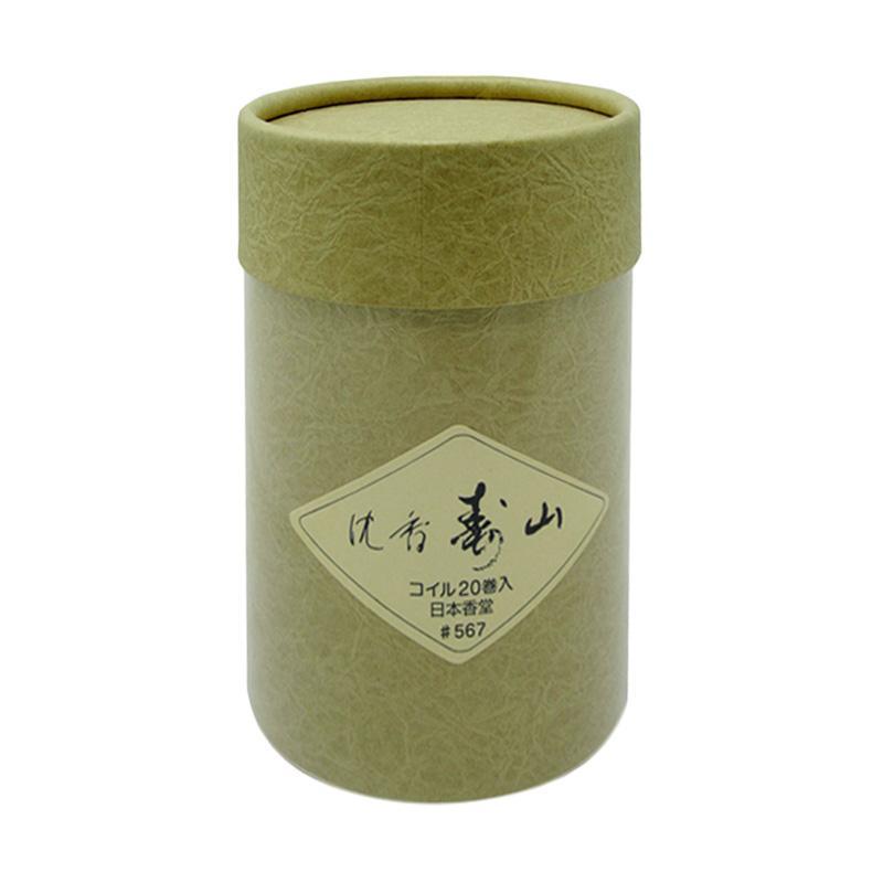 Nippon Kodo Jinkoh Juzan Coil 20 Dupa