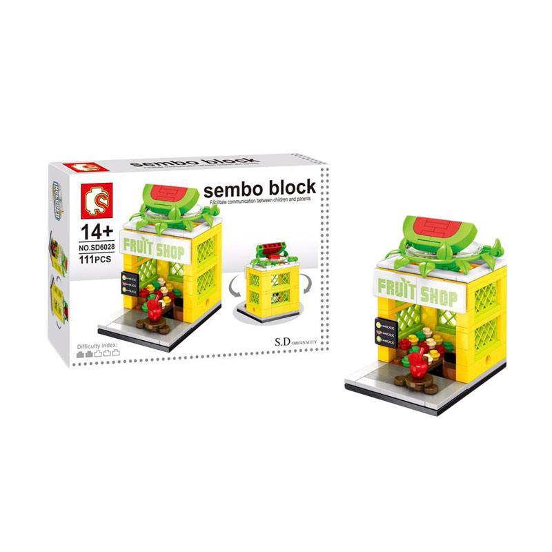 Sembo Block Fruit Shop Blocks & Stacking Toys