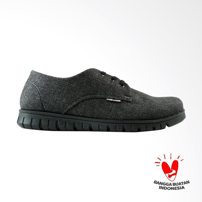 Dane And Dine Kreya Sneakers Sepatu Pria - Black