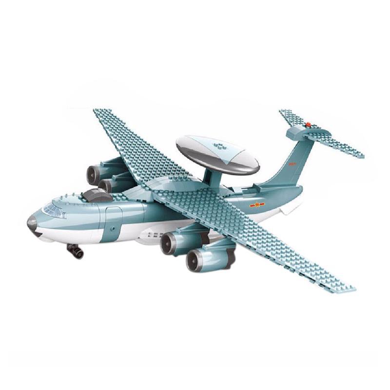 Wange Dr Luck KJ2000 Airborne Early Wrn Mini Blocks