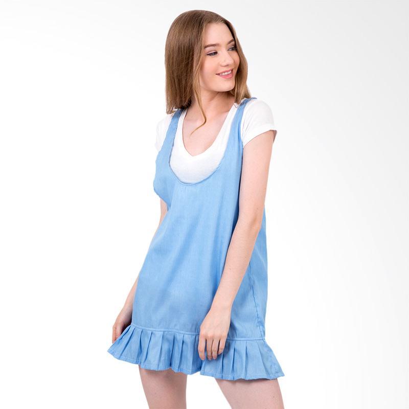 Boontie Cassie Dress - Biru