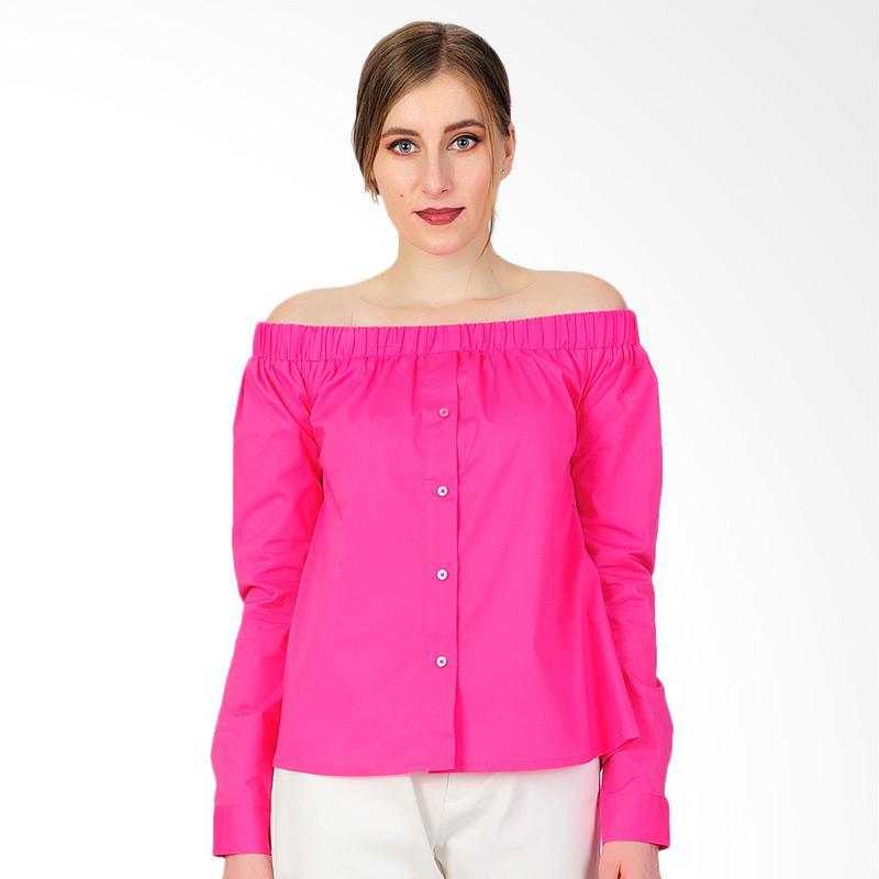 SJO & SIMPAPLY Charming Women Blouse - Pink