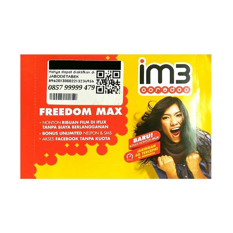 Indosat im3 Nomor Cantik 0857 99999 479 Kartu Perdana [4G LTE]
