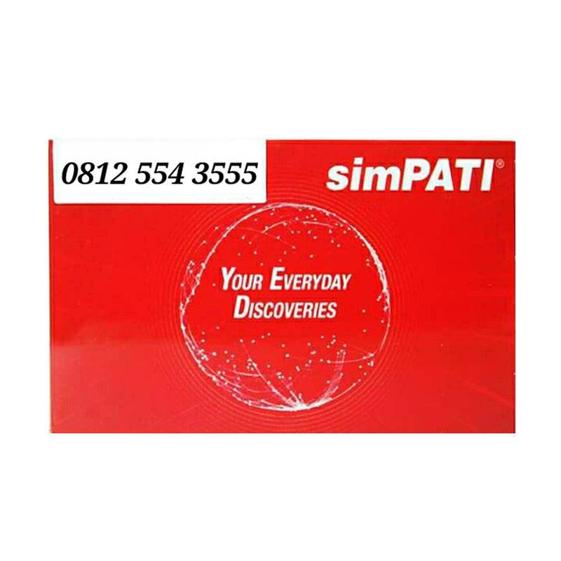 Telkomsel Simpati 0812 554 3555 Kartu Perdana [11 Digit]
