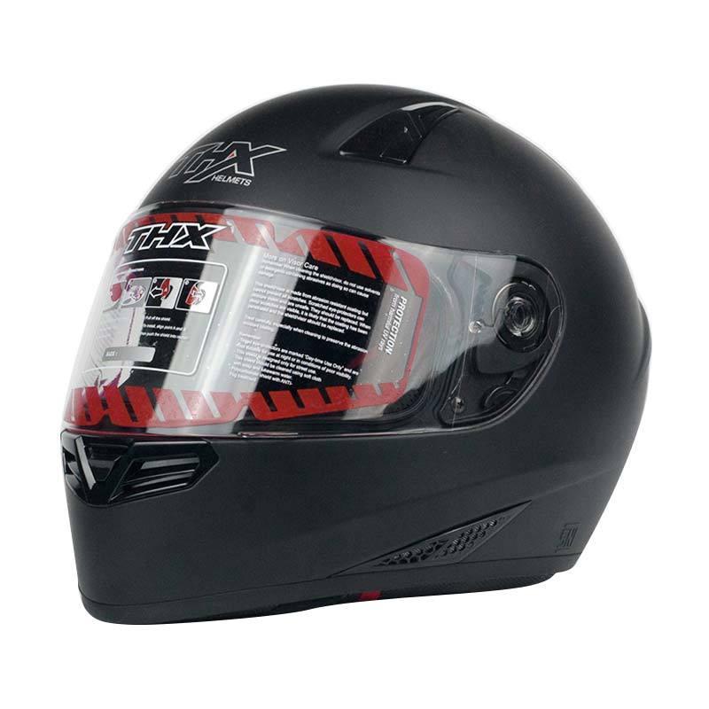 THX NF 300 Helm Full Face - Black Flat Metallic