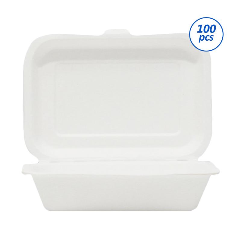Avani Bagasse Food Box [600 mL/ 100 pcs]