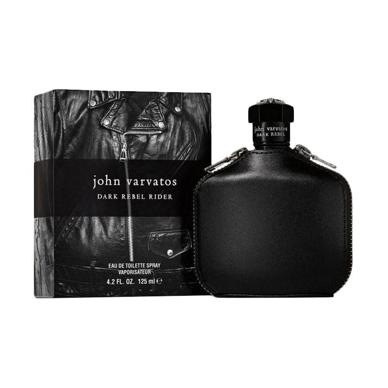 John Varvatos Dark Rebel Rider Eau de Toilette Parfum Pria [125 mL]