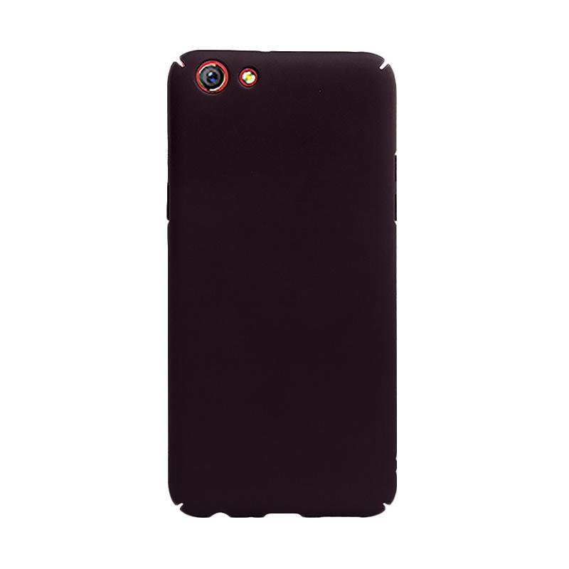 OEM Baby Skin Ultra Thin Hardcase Casing for Oppo F3 - Black