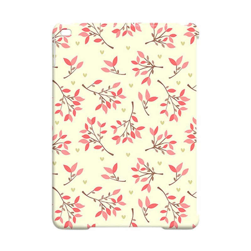 Premiumcaseid Cute Floral Seamless Shabby Cover Hardcase Casing for iPad Air 2