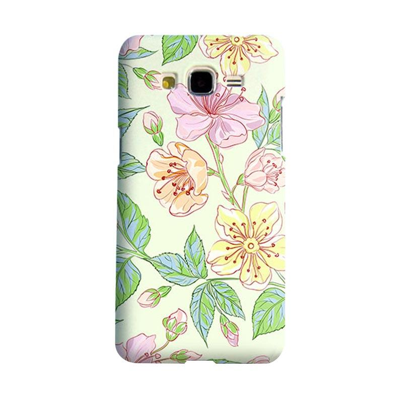 Premiumcaseid Beautiful Flower Wallpaper Cover Hardcase Casing for Samsung Galaxy Grand Prime