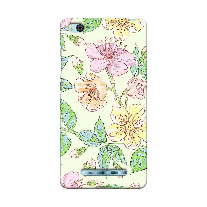 Premiumcaseid Beautiful Flower Wallpaper Hardcase Casing for Xiaomi Mi 4i
