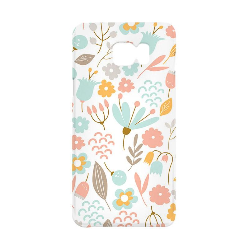 Premiumcaseid Cute Pastel Shabby Chic Floral Hardcase Casing for Samsung Galaxy Note 5