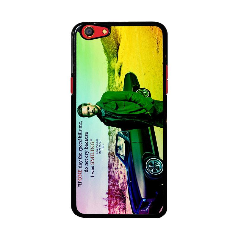 Flazzstore Paul Walker Quote Z0366 Custom Casing for Oppo F3
