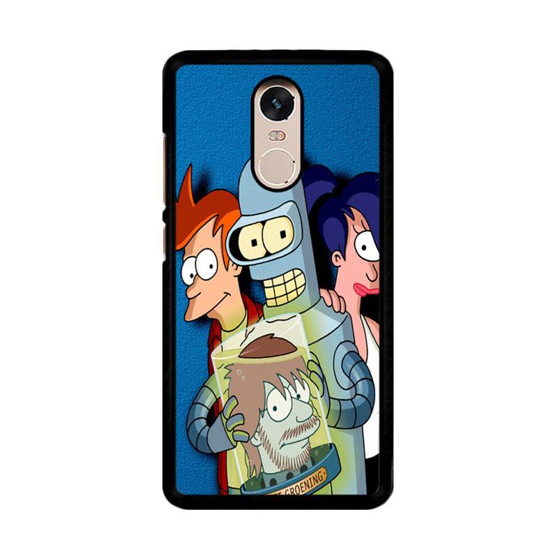 Flazzstore Cartoon Futurama Z0647 Custom Casing for Xiaomi Redmi Note 4 or Note 4X Snapdragon Mediatek