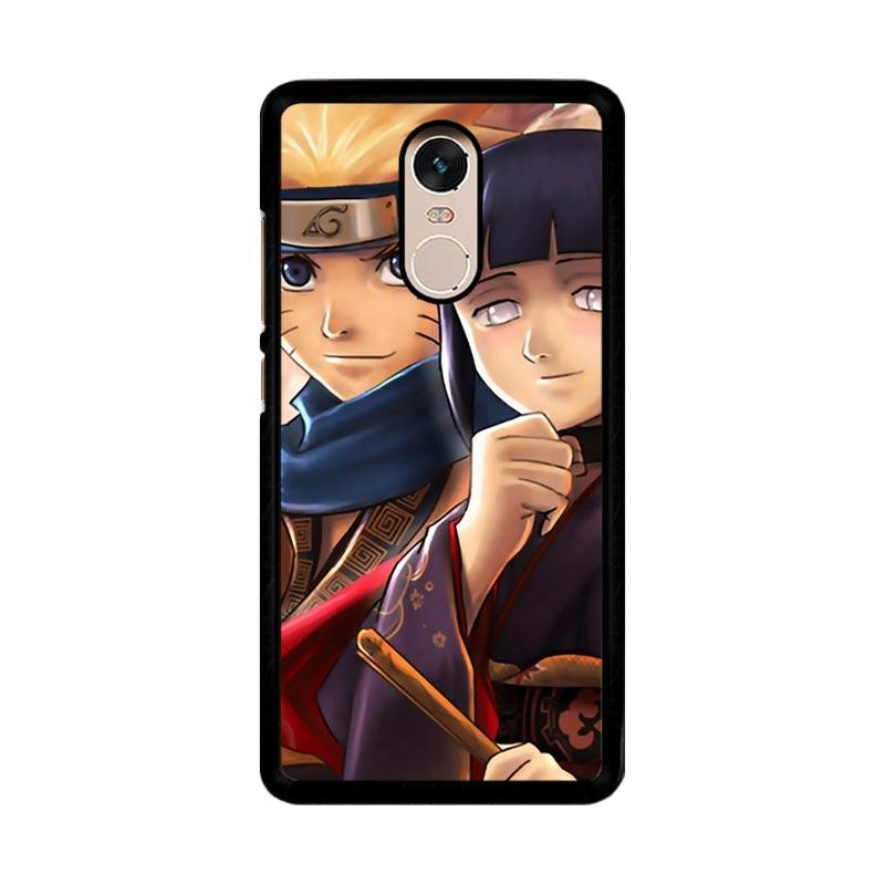 Flazzstore Hinata Hyuga And Naruto Uzumaki Z0684 Custom Casing for Xiaomi Redmi Note 4 or Note 4X Snapdragon Mediatek