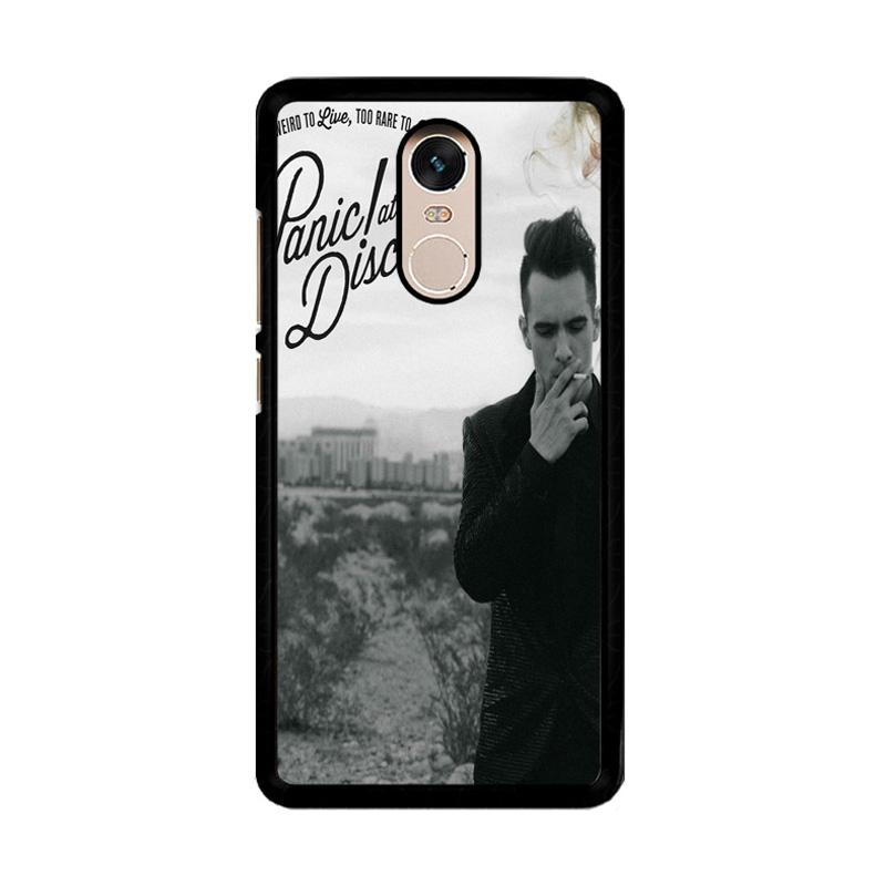 Flazzstore Panic At The Disco Album Cover F0590 Custom Casing for Xiaomi Redmi Note 4 or Note 4X Snapdragon Mediatek