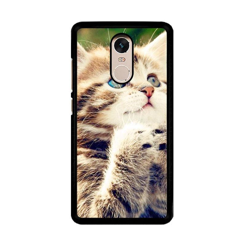 Flazzstore Prayer Cat Z0249 Custom Casing for Xiaomi Redmi Note 4 or Note 4X Snapdragon Mediatek