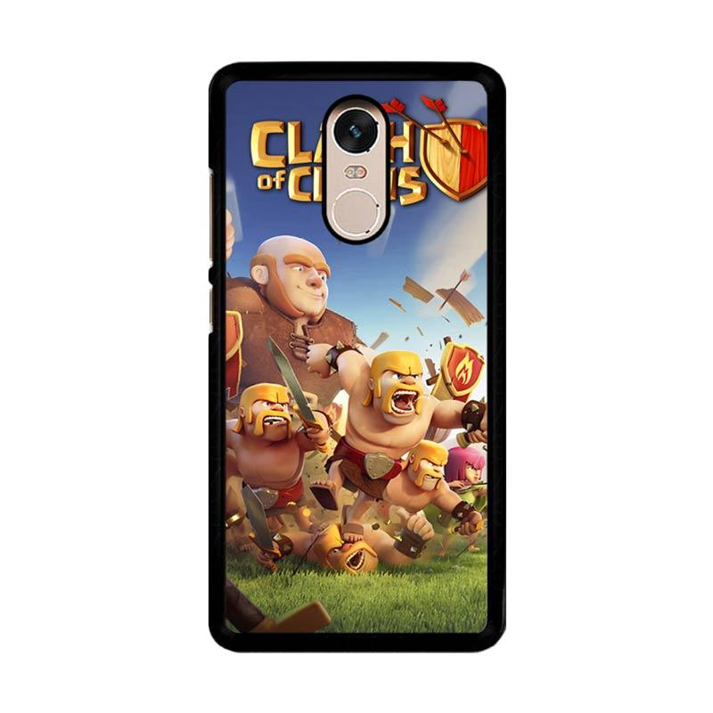 Flazzstore Clash Of Clans Mobile Games Custom Casing for Xiaomi Redmi Note 4 or Note 4X Snapdragon Mediatek