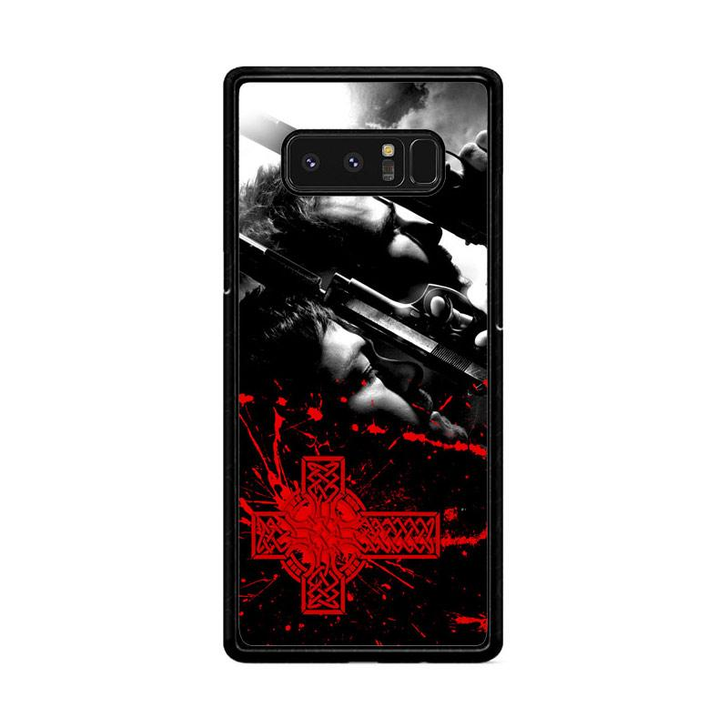 Flazzstore Boondock Saint Movies Series Z0346 Custom Casing for Samsung Galaxy Note8