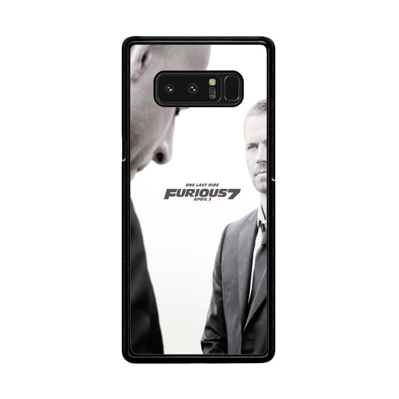 Flazzstore One Last Ride Z0365 Custom Casing for Samsung Galaxy Note 8