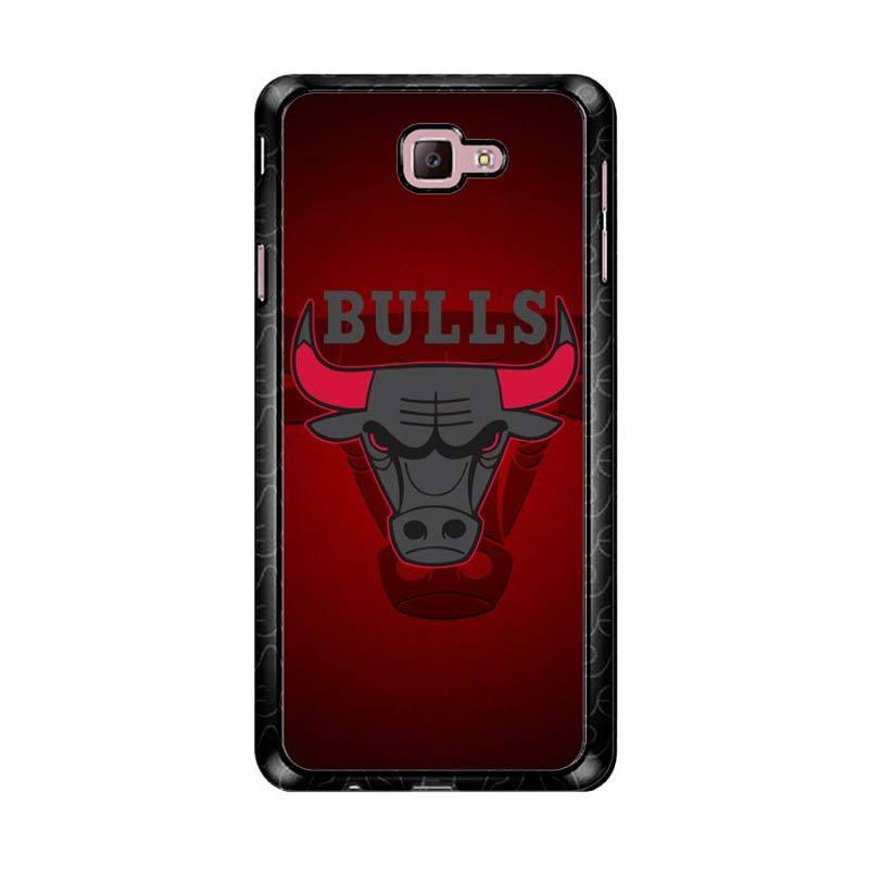 Flazzstore Chicago Bulls Logo Z3338 Custom Casing for Samsung Galaxy J7 Prime