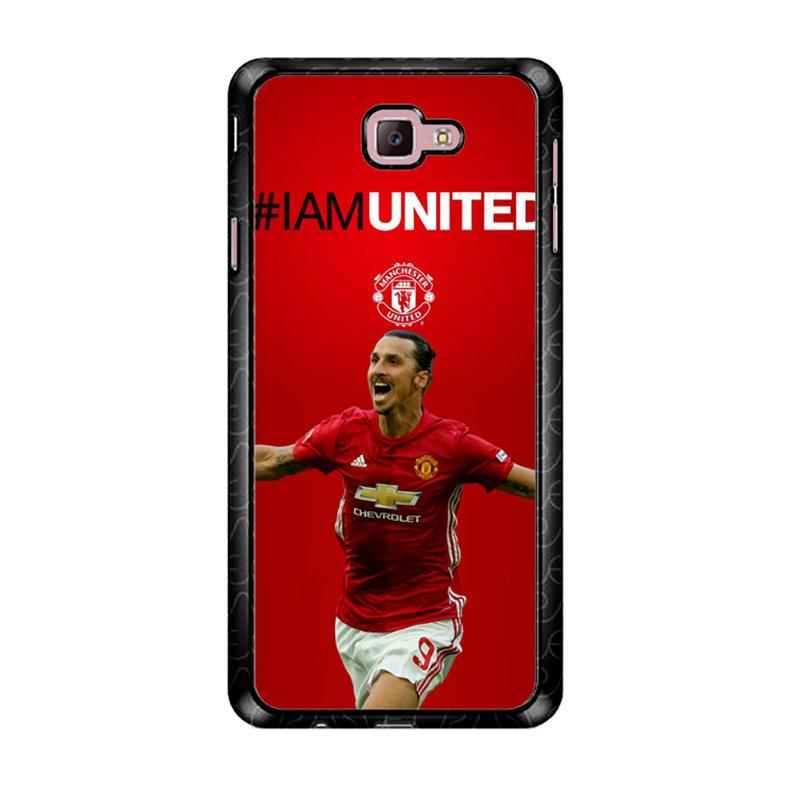 Flazzstore Ibrahimovic Manchester United Z39670 Custom Casing for Samsung Galaxy J7 Prime