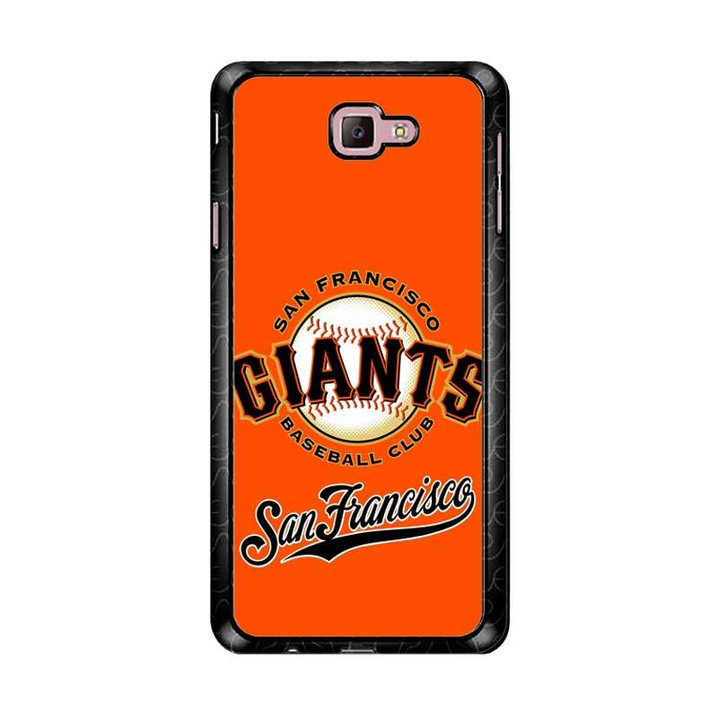 Flazzstore San Francisco Giants Logo Z4063 Custom Casing for Samsung Galaxy J7 Prime