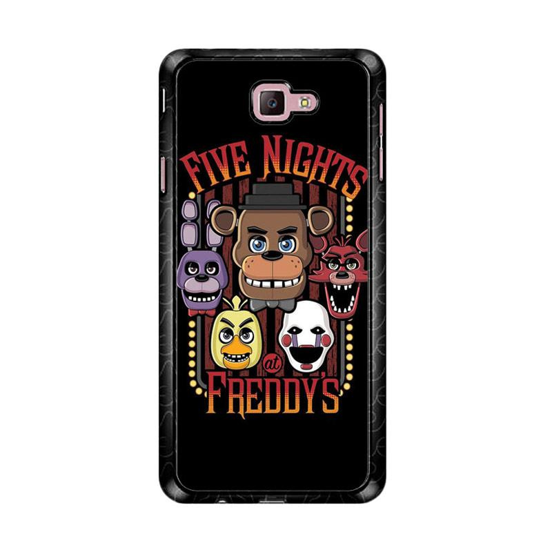 Flazzstore Five Nights At Freddy'S Characters Z4221 Custom Casing for Samsung Galaxy J7 Prime