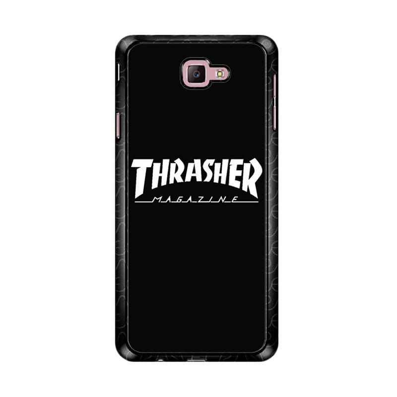 Flazzstore Thrasher Magazine Skate Z4741 Custom Casing for Samsung Galaxy J7 Prime