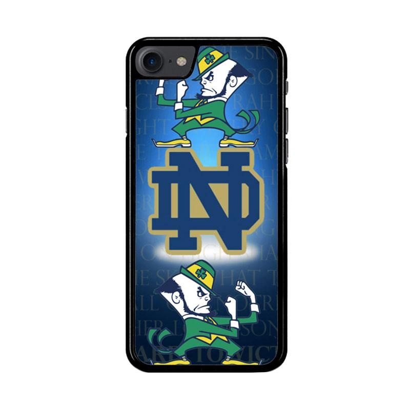 Flazzstore Notre Dame Fighting Irish Z3352 Custom Casing for iPhone 7 or 8