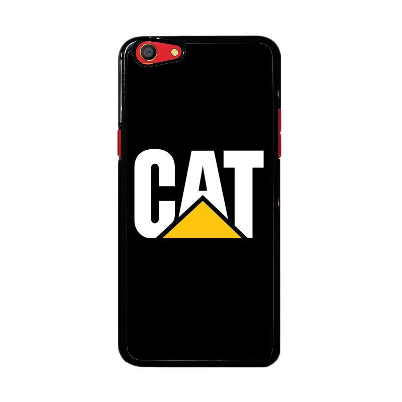 Flazzstore Caterpillar Logo Black Z4462 Custom Casing for Oppo F3