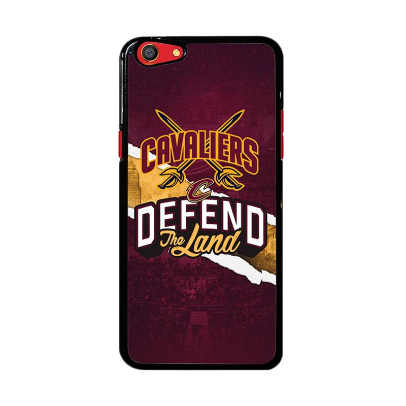 Flazzstore Defend The Land Cavaliers Playoff Z4806 Custom Casing for Oppo F3