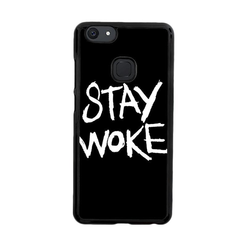 Flazzstore Stay Woke Z4826 Custom Casing for Vivo V7 Plus