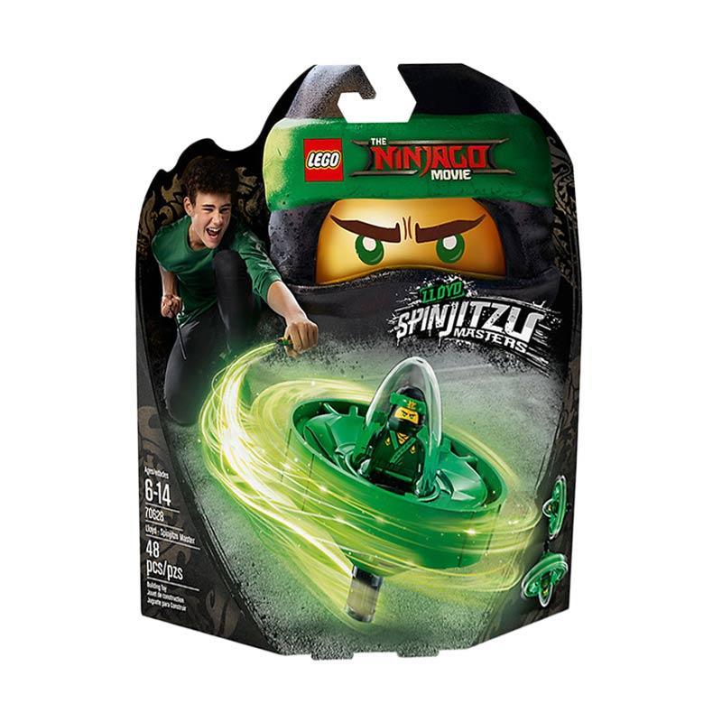 LEGO The Ninjago Movie Lloyd - Spinjitzu Master 70628 Blocks & Stacking Toys