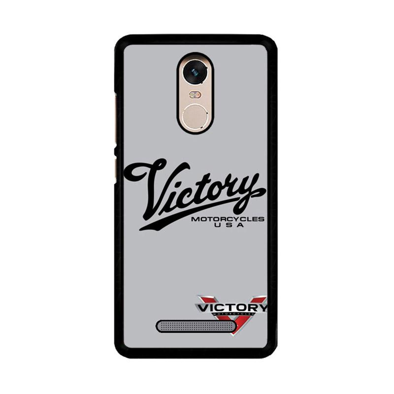 Flazzstore Victory Motorcycles Logo Z3878  Custom Casing for Xiaomi Redmi Note 3 or Note 3 Pro