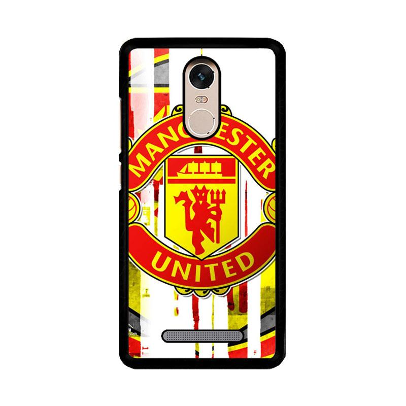 Flazzstore Manchester United  Art Logo Z4013 Custom Casing for Xiaomi Redmi Note 3 or Note 3 Pro