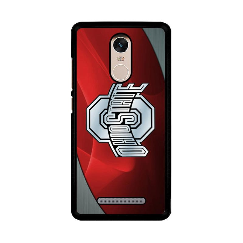 Flazzstore Ohio State Red Z4242 Custom Casing for Xiaomi Redmi Note 3 or Note 3 Pro