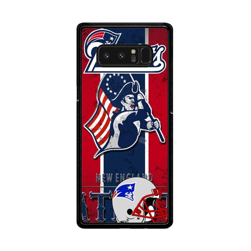Flazzstore New England Patriots Z2997 Custom Casing for Samsung Galaxy Note8