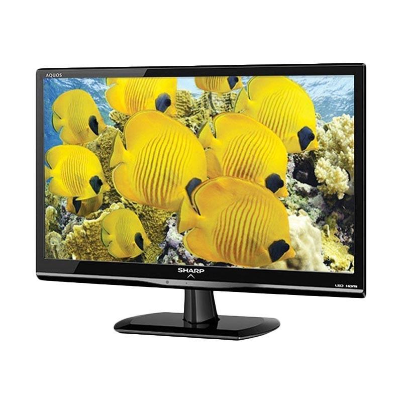 Aqua Sharp 24 LE170 LED TV - Hitam [24 Inch]
