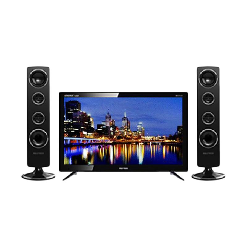 POLYTRON 24 T8511 TV LED with Tower Speaker [24 Inch/ Original]