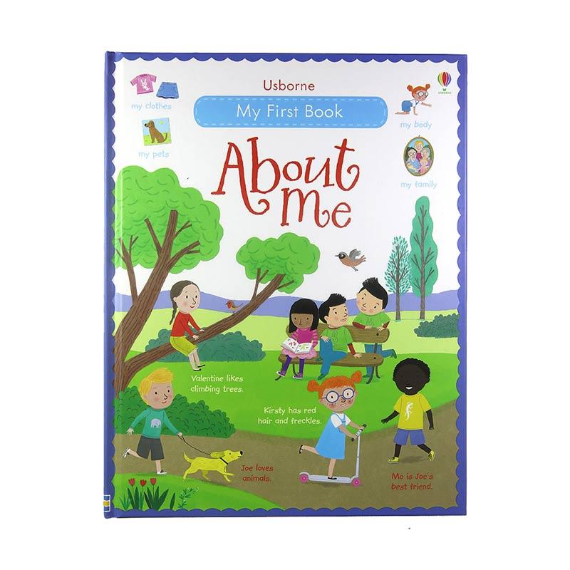 Usborne Books My First Book About Me Buku Anak