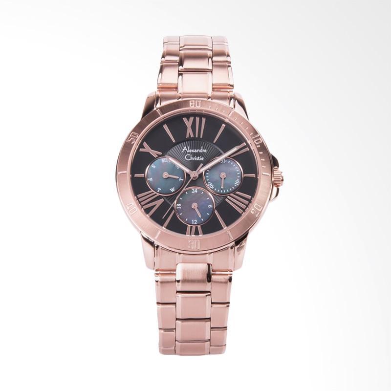 Alexandre Christie Ladies AC 2650 BF BRGBA Jam Tangan Wanita - Rose Gold