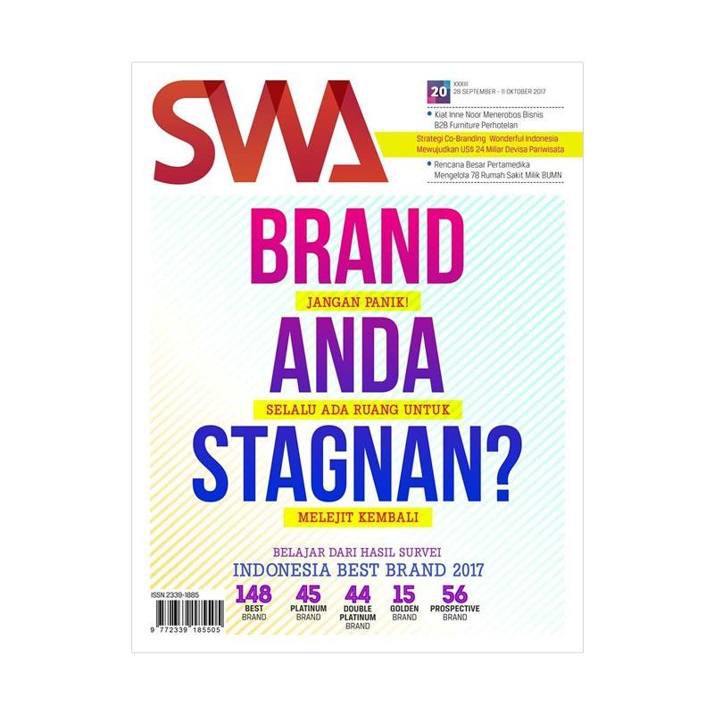SWA Edisi 20-2017 Indonesia Best Brand 2017 Buku Bisnis