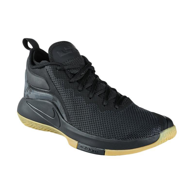 5f2071ba673 harga NIKE Men Basketball Lebron Witness II Sepatu Basket Pria - Black   942518-020