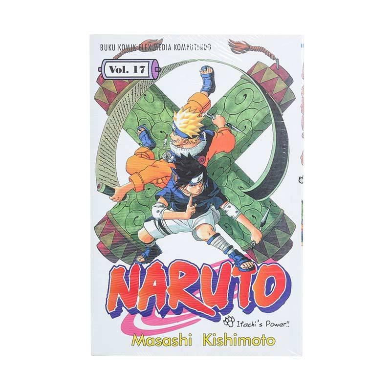 Elex Media Komputindo Naruto 17 200019058 by Masashi Kishimoto Buku Komik