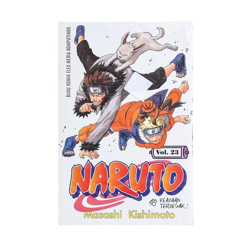 Elex Media Komputindo Naruto 23 200017874 by Masashi Kishimoto Buku Komik