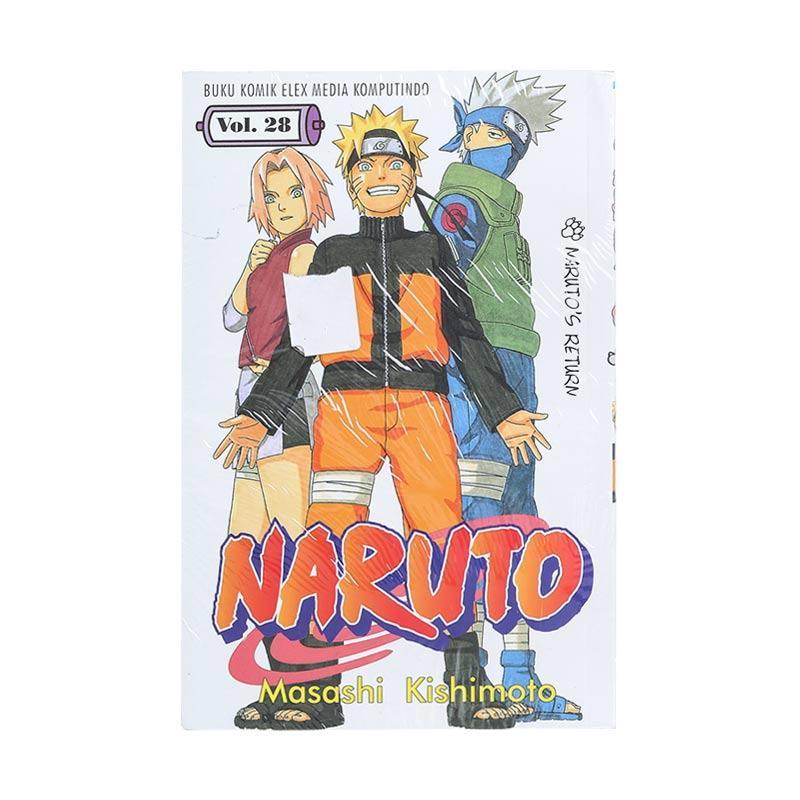 Elex Media Komputindo Naruto 28 200016779 by Masashi Kishimoto Buku Komik