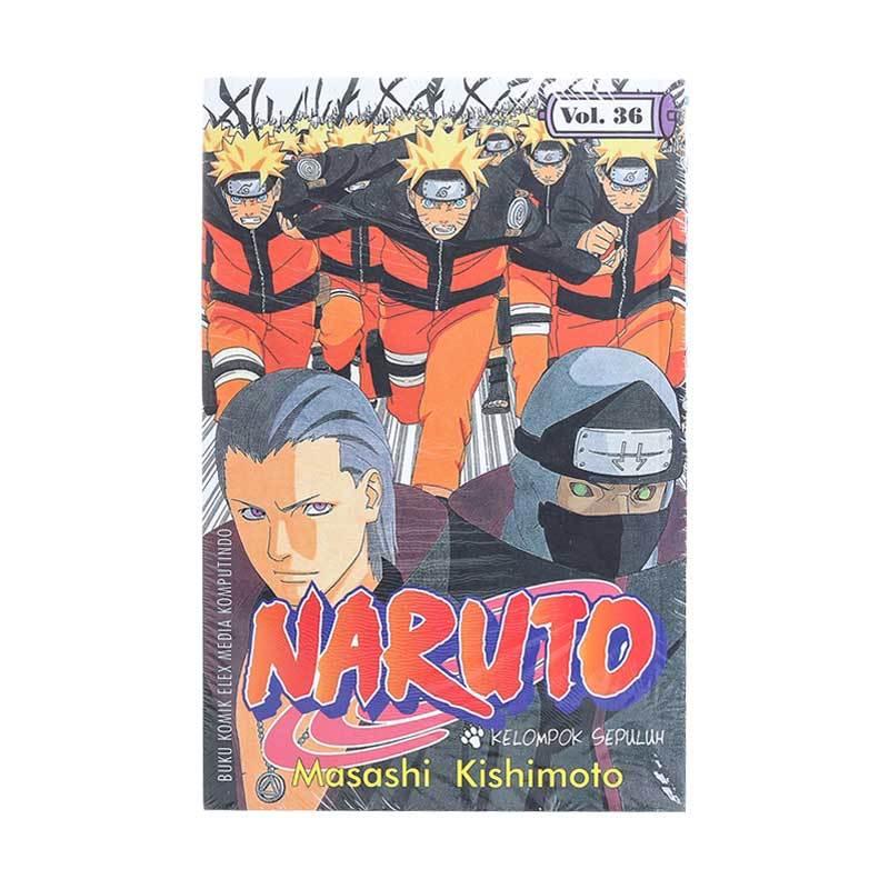 Elex Media Komputindo Naruto 36 200042691 by Masashi Kishimoto Buku Komik