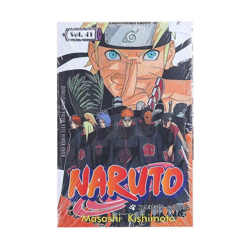 Elex Media Komputindo Naruto 41 200067863 by Masashi Kishimoto Buku Komik