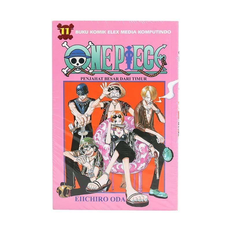 Elex Media Komputindo One Piece 11 200020208 by Eiichiro Oda Buku Komik
